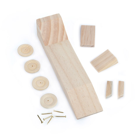 Wooden model race car craft kit kids craft kits kids for Wood craft supply stores