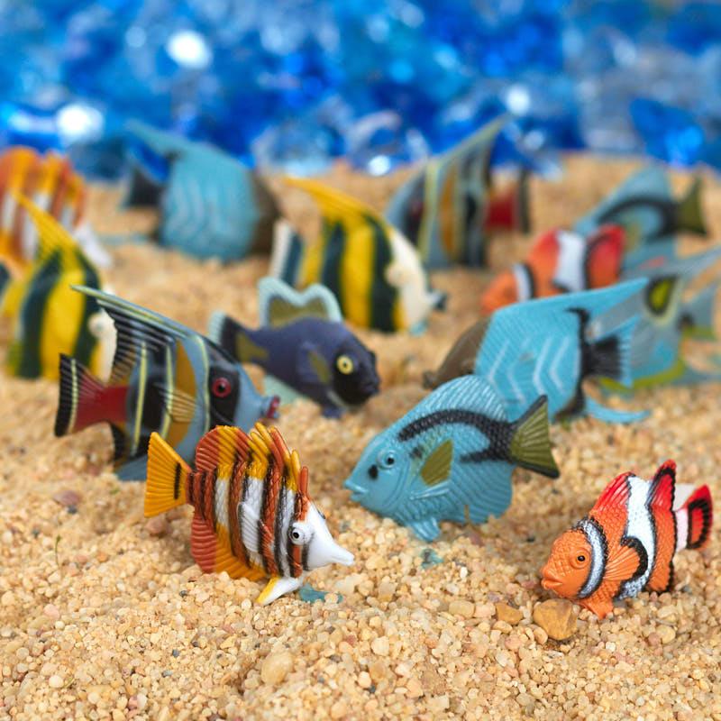 Plastic Tropical Fish