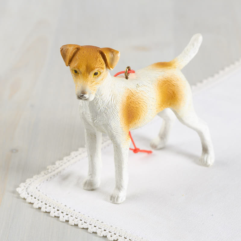 Click Here For A Larger View - Miniature Jack Russell Dog Ornament - Christmas Ornaments