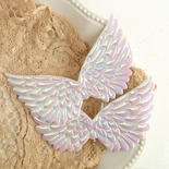 Embossed Iridescent Angel Wings - True Vintage