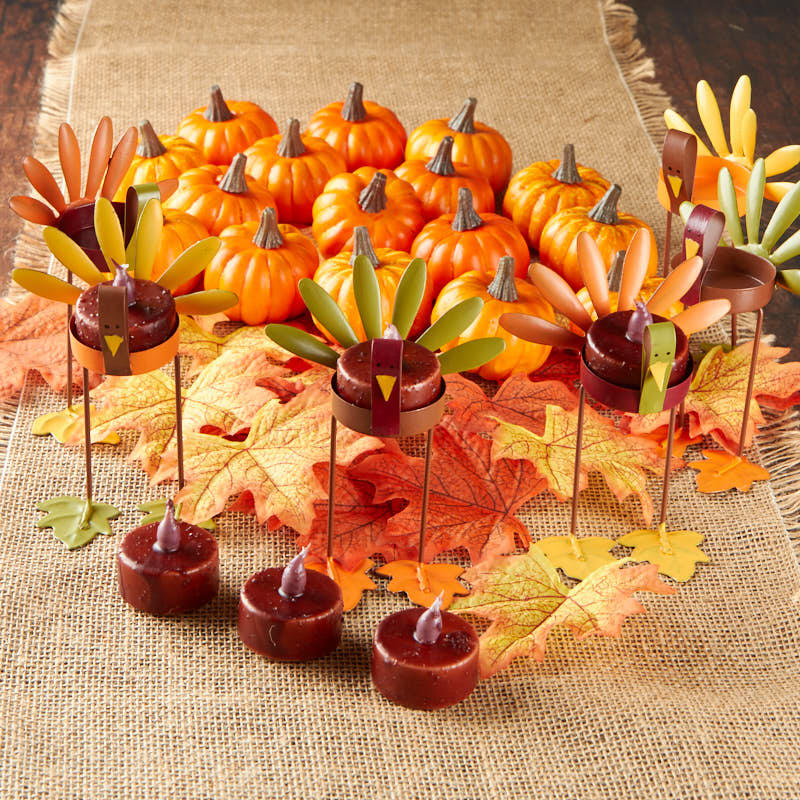 Thanksgiving table decoration kit decor home