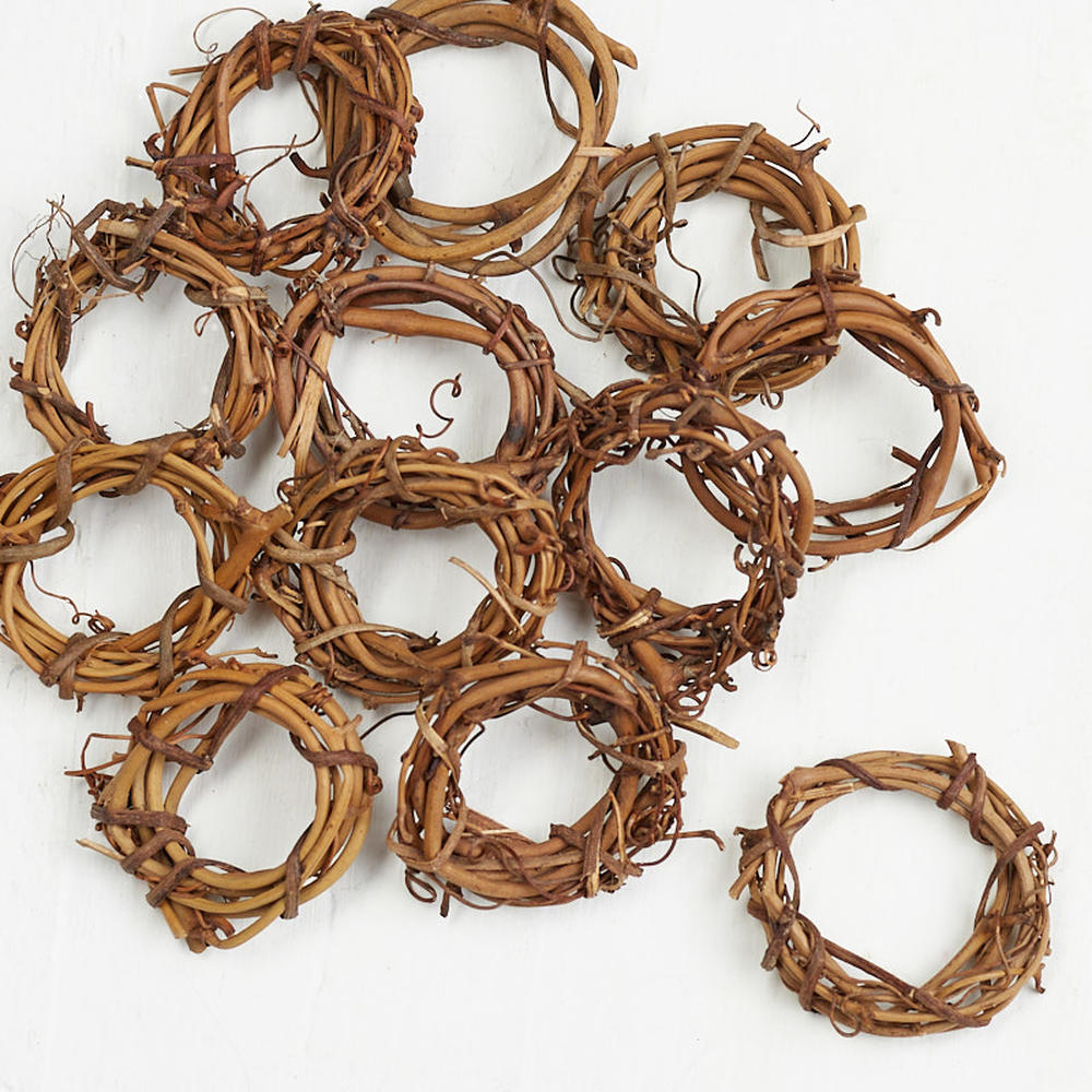 Natural grapevine wreaths natural grapevine floral for Craft wreaths for sale