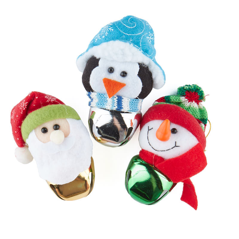 Felt jingle bell buddy christmas ornament on sale