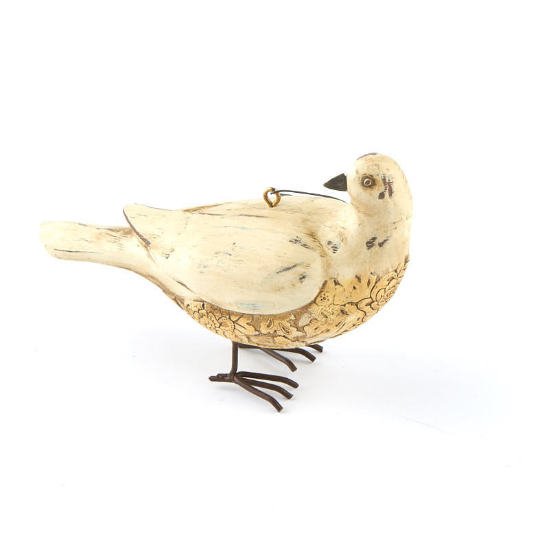 Wedding Gift Ornaments : Primitive Dove OrnamentChristmas and Winter SaleSales