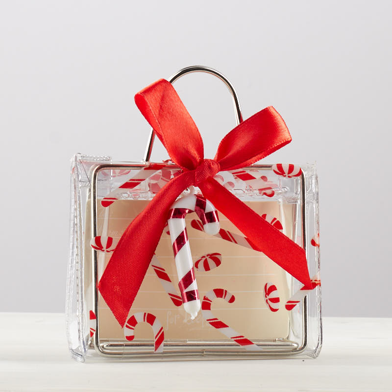 Candy Cane Holiday Gift Card Holder Bags Basic Craft Supplies