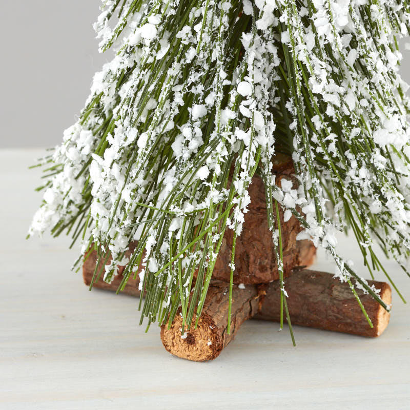 Miniature Artificial Christmas Trees: Miniature Frosted Artificial Tree
