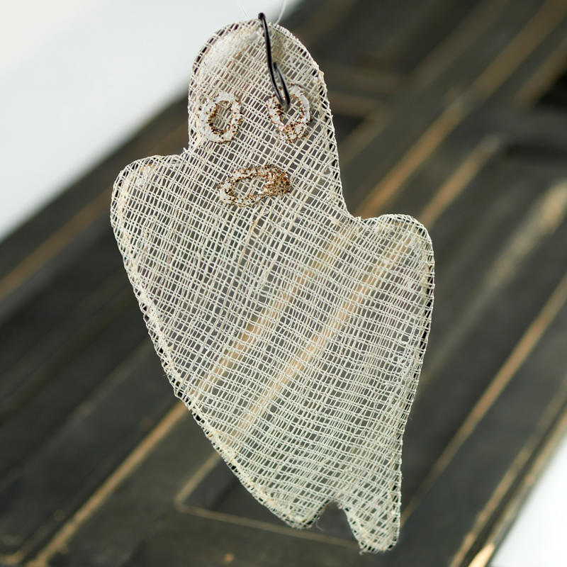 Wendy addison wire mesh ghost ornament wall decor and