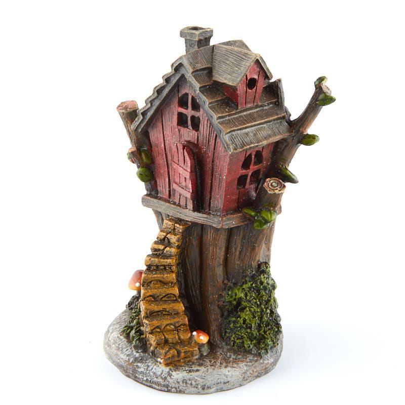 Miniature Tree House fairy garden miniature tree house - fairy garden miniatures