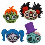 Dress It Up Halloween Zany Zombies Buttons