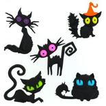 Dress It Up Halloween Creeped Out Cats Buttons