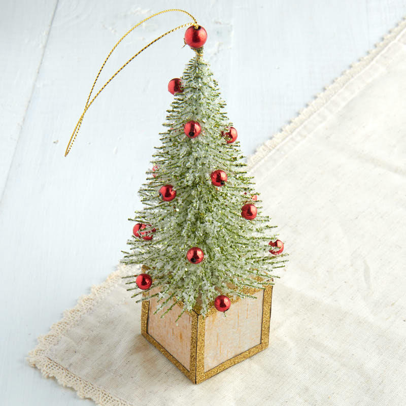 click here for a larger view - Miniature Christmas Tree Ornaments