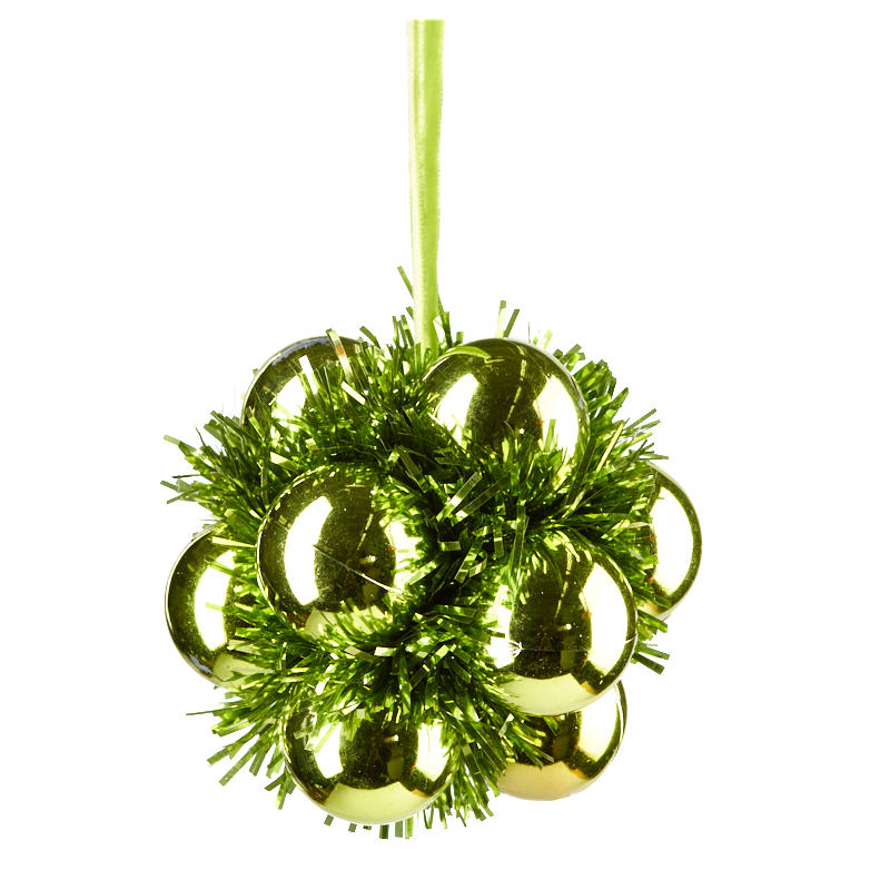 compare size - Tinsel Christmas Decorations