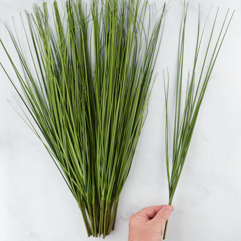 Artificial grass sprays picks and stems floral for Faux grass for crafts