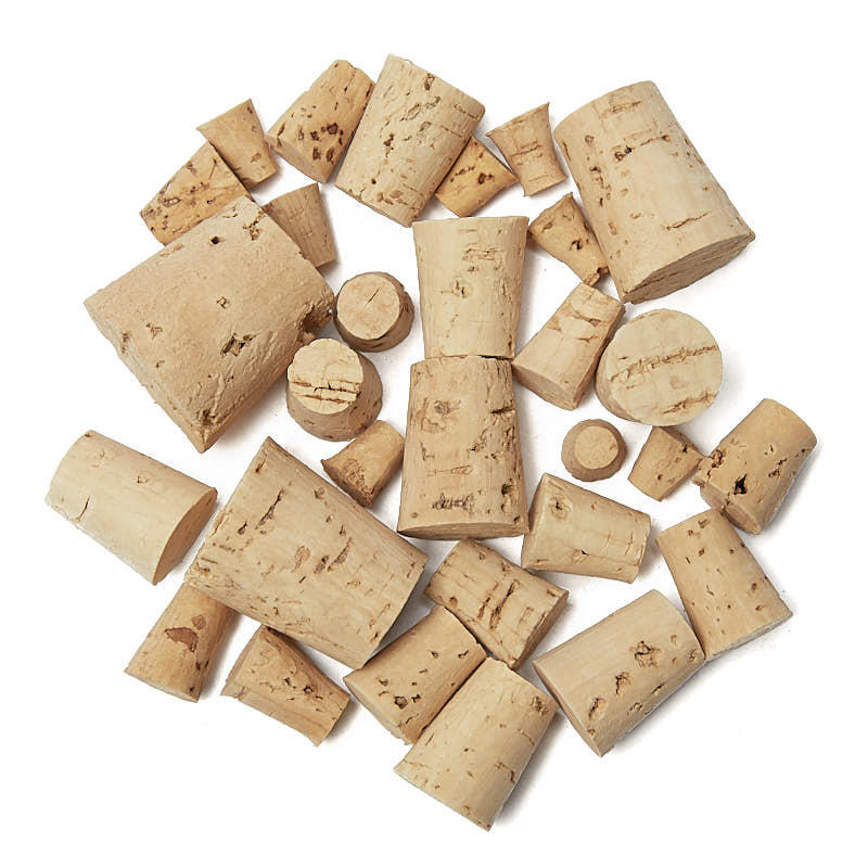eba493f1553669 Assorted Natural Cork Stoppers - Cork - Basic Craft Supplies - Craft ...
