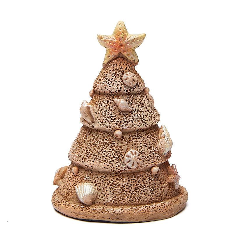 Miniature beach sand christmas tree trees and toppers for Miniature christmas trees for crafts
