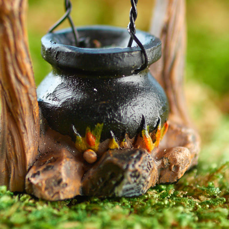 Miniature Halloween Cauldron - Table Decor - Fall and Halloween ...