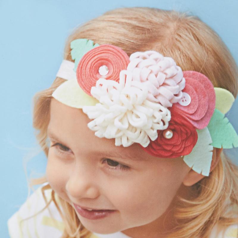 felt flower headband kit kids craft kits kids crafts