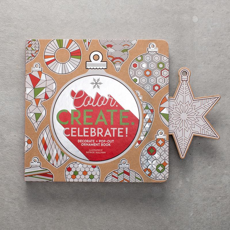 Color create celebrate pop out ornament book on for Colors that pop out