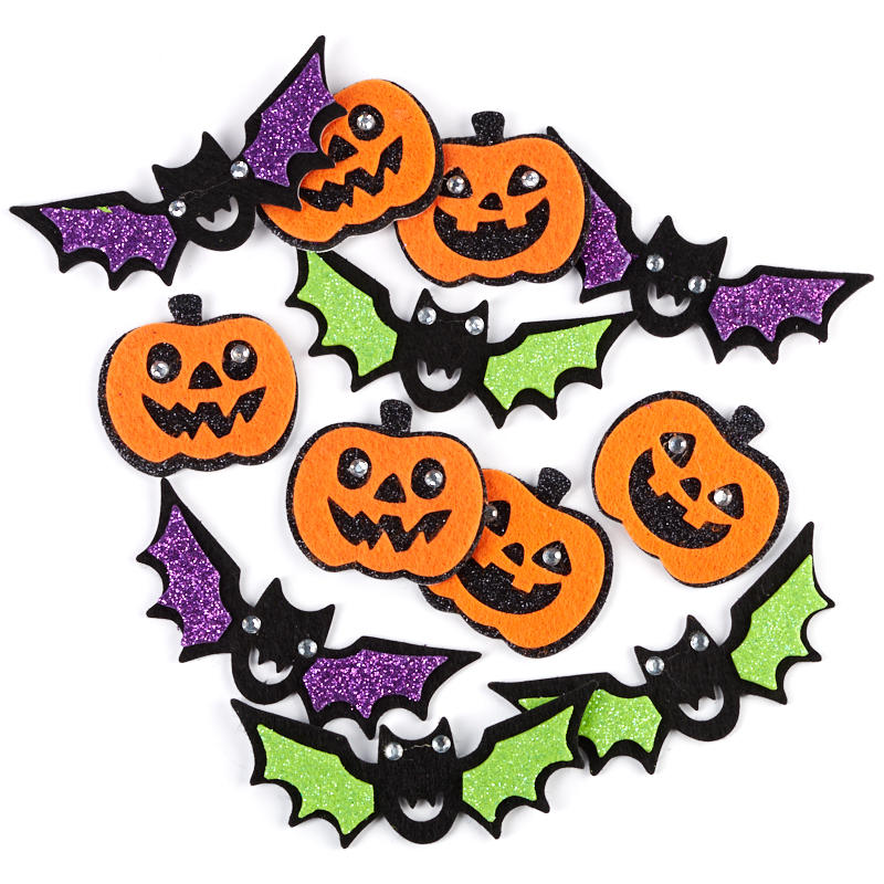 Foam and Felt Halloween Stickers - Fall Craft Supplies - Fall and ...