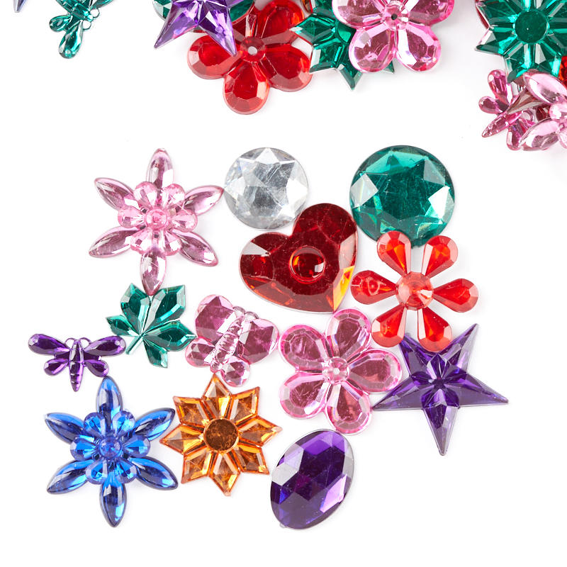 Assorted rhinestone gems craft supplies sale sales for Rhinestone jewels for crafts