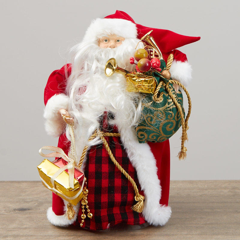 Christmas Tree Toppers Santa: Christmas Trees And Toppers