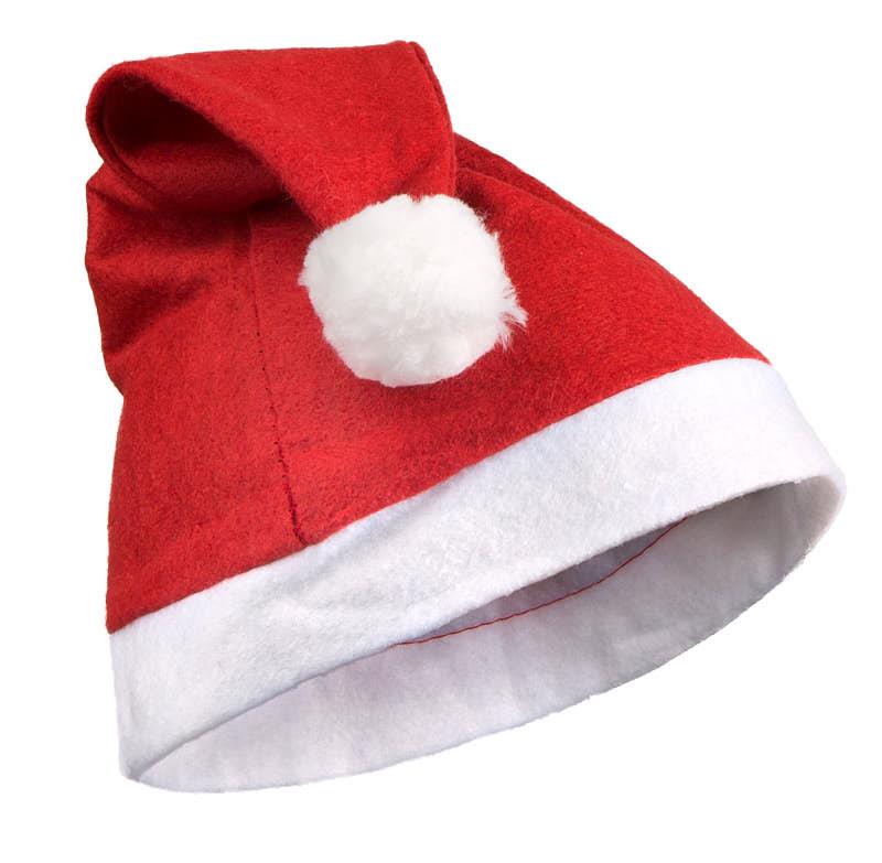 3b54e3e5bd8b7 Red Felt Santa Hat - Doll Hats - Doll Supplies - Craft Supplies