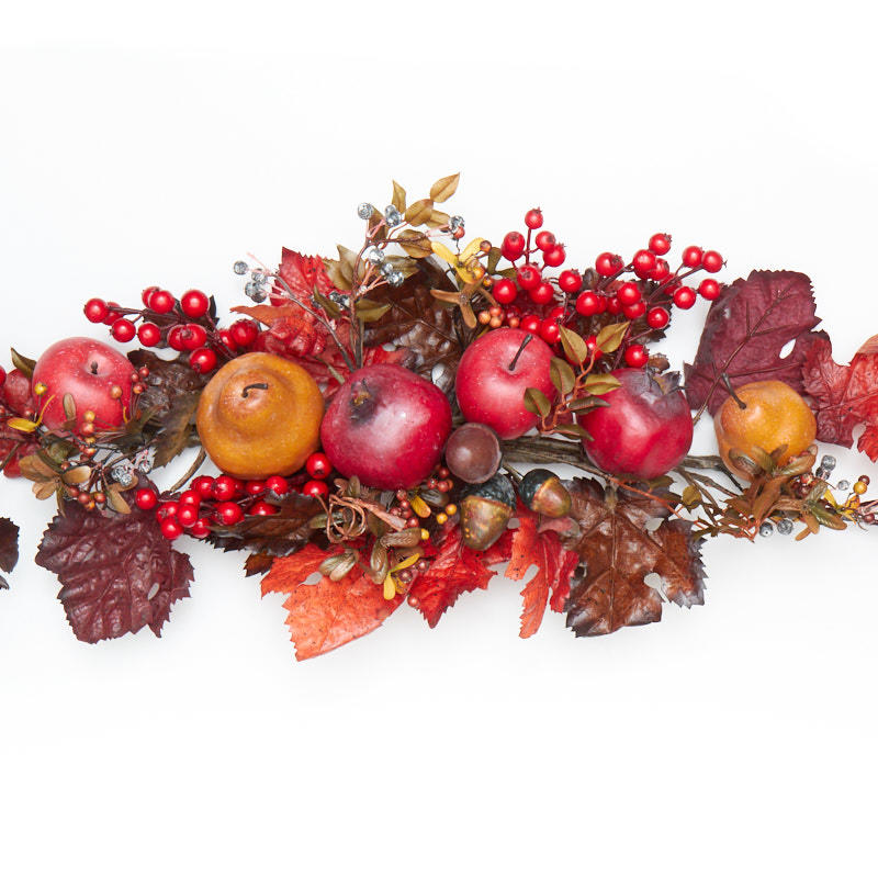 Fall Artificial Fruit Swag On Sale Home Decor