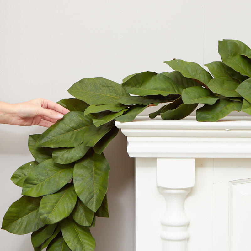 Artificial Magnolia Leaf Garland Garlands Floral