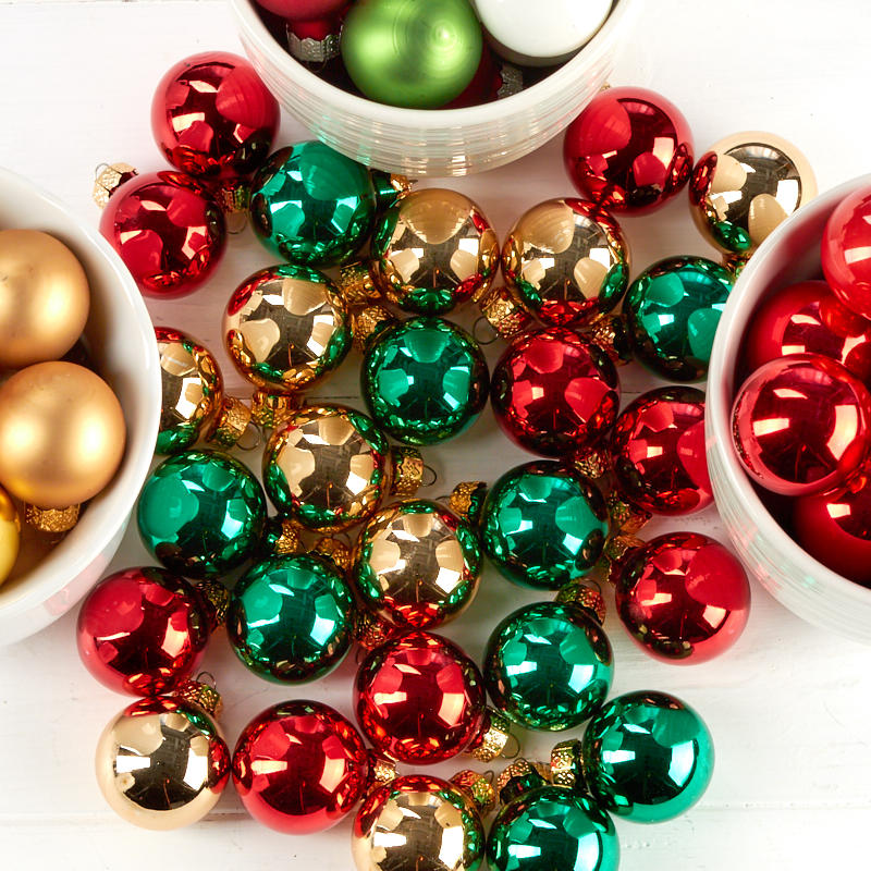 Assorted Miniature Christmas Ornaments - Christmas ...