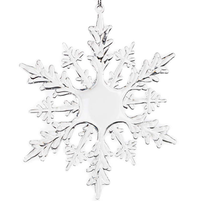 how to make crystal snowflake ornaments