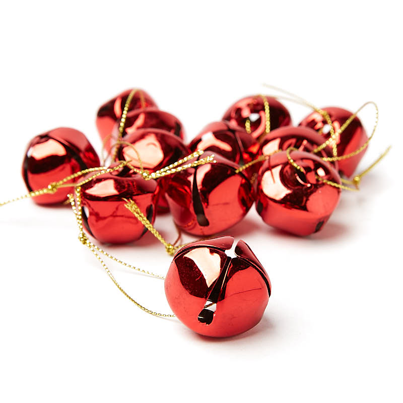 Red Jingle Bell Ornaments - recvd