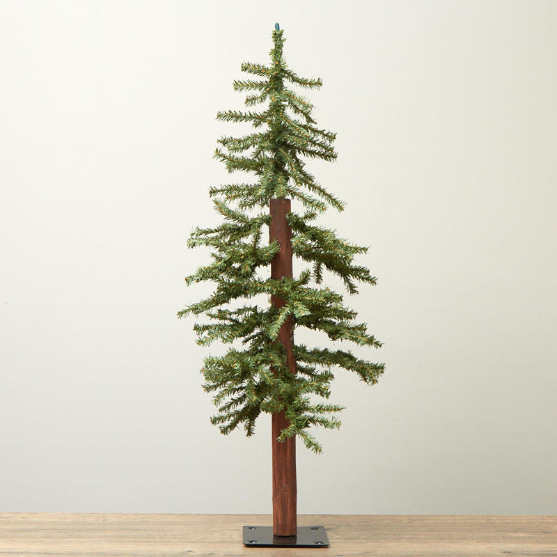 Skinny Artificial Alpine Tree - Trees and Toppers ...