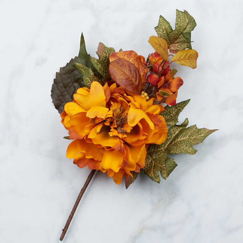 artificial fall flower pick picks and stems floral supplies