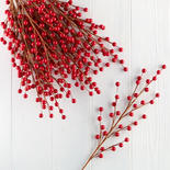 Red Artificial Berry Sprays