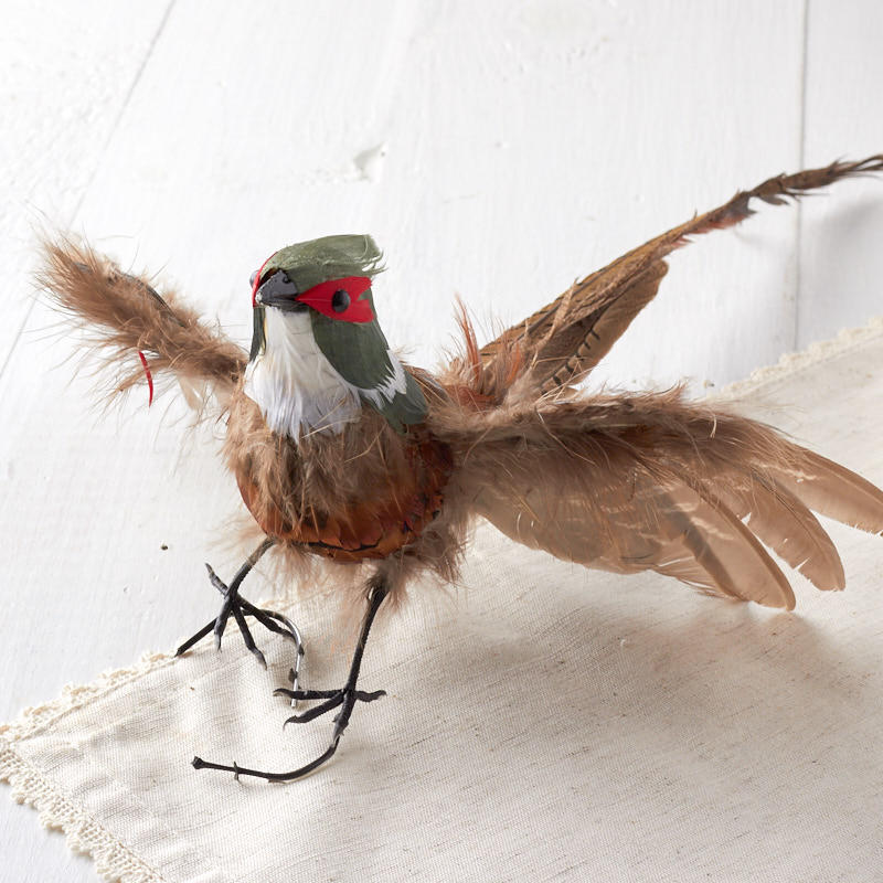 Flying Artificial Pheasant