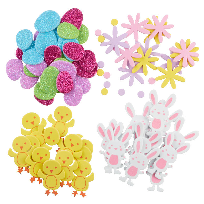 Assorted Easter Foam Stickers
