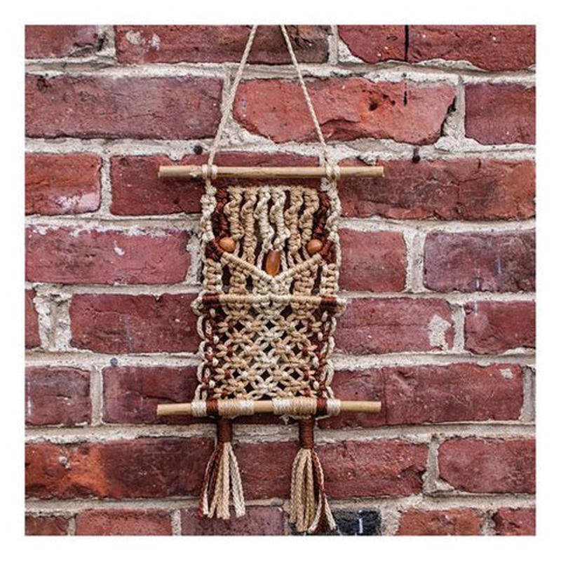 macrame wall hanging kit macrame owl wall hanging kit recvd 143