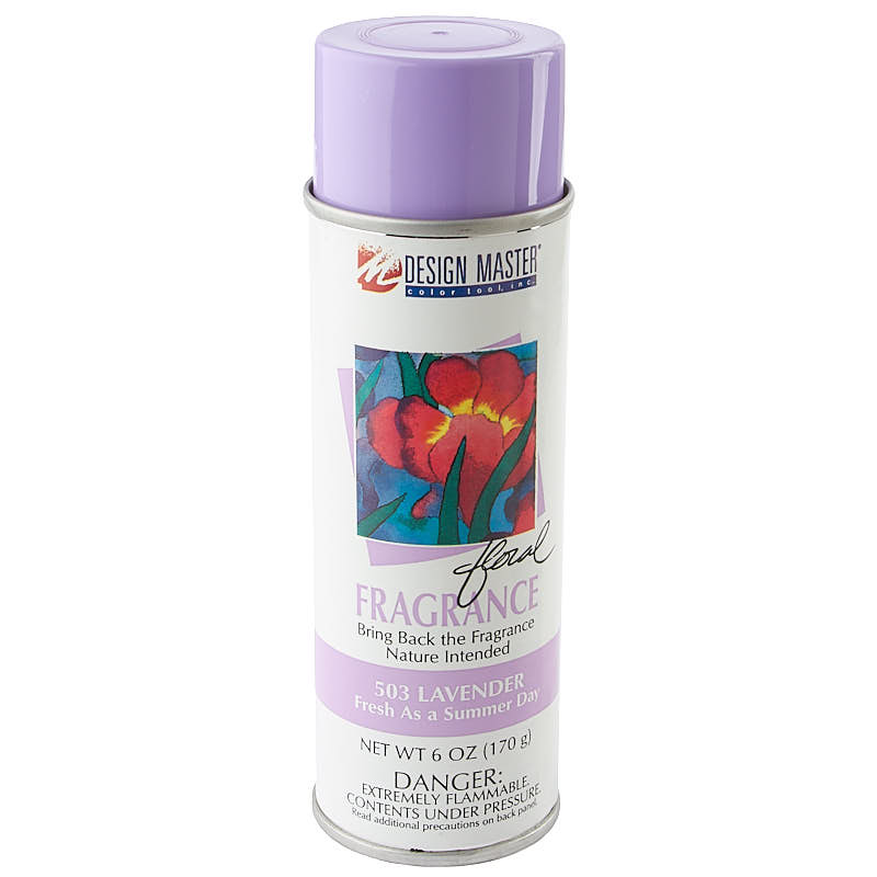 Design Master Lavender Floral Fragrance Spray Mediums And Finishes Painting Supplies Craft