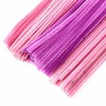 Pink and Lavender Pipe Cleaners