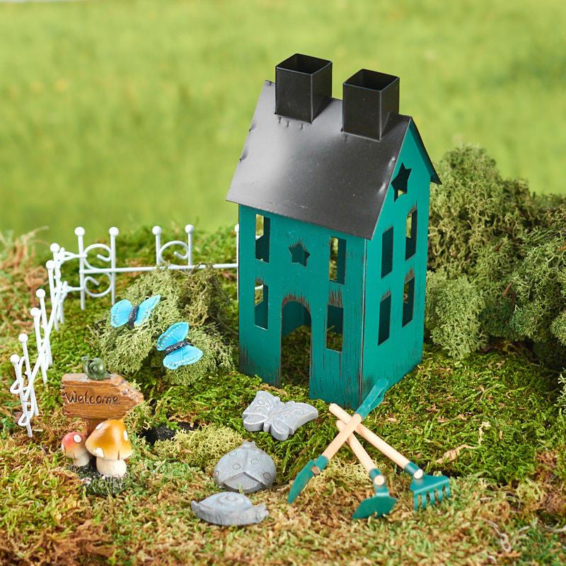 Miniature Fairy Garden Kit - Fairy Garden Miniatures - Dollhouse ...