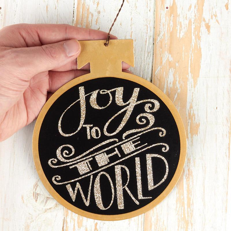 """""""Joy to the World"""" Christmas Ornament - Christmas ..."""