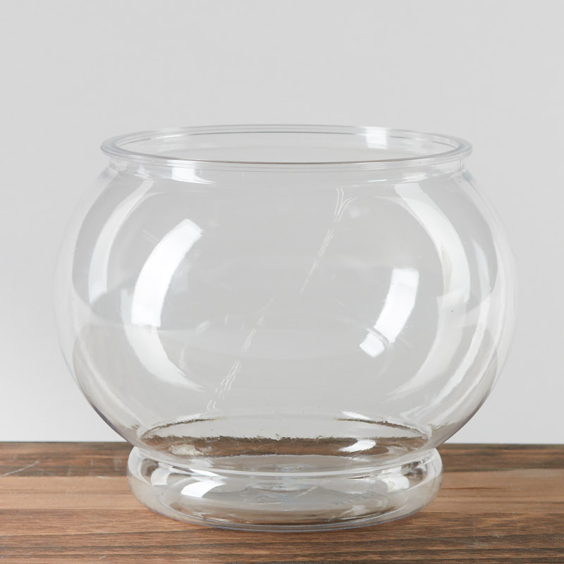 clear plastic fish bowl what 39 s new home decor