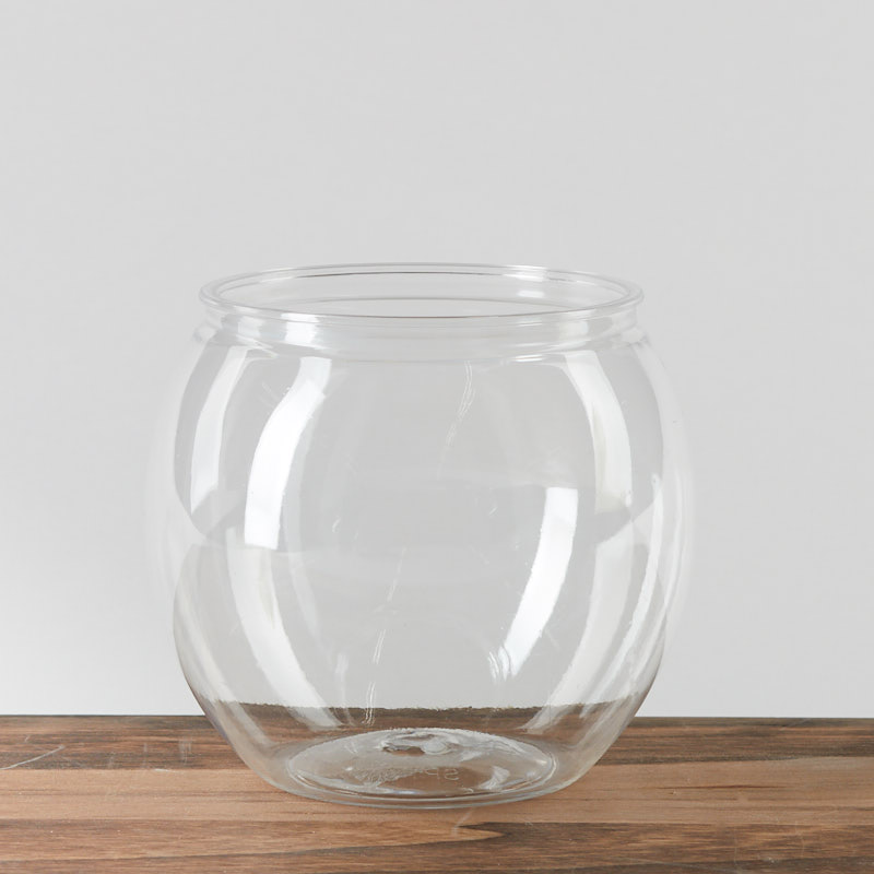 clear plastic fish bowl wedding centerpieces wedding