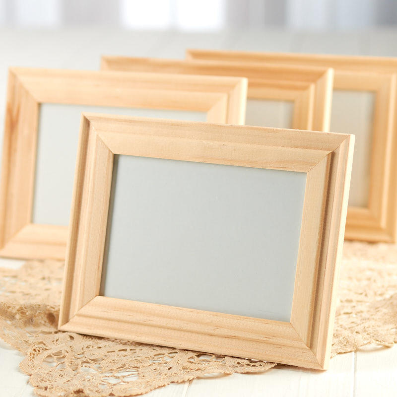 Unfinished Wood Picture Frames - Tableware - Party Supplies - Party ...
