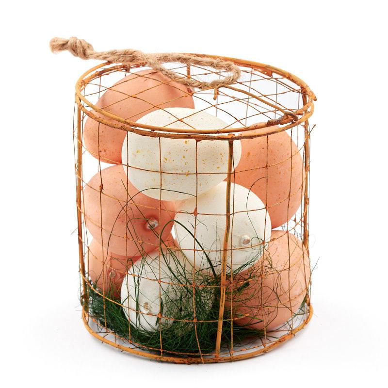 Sale Home Decor: Chicken Wire Egg Basket