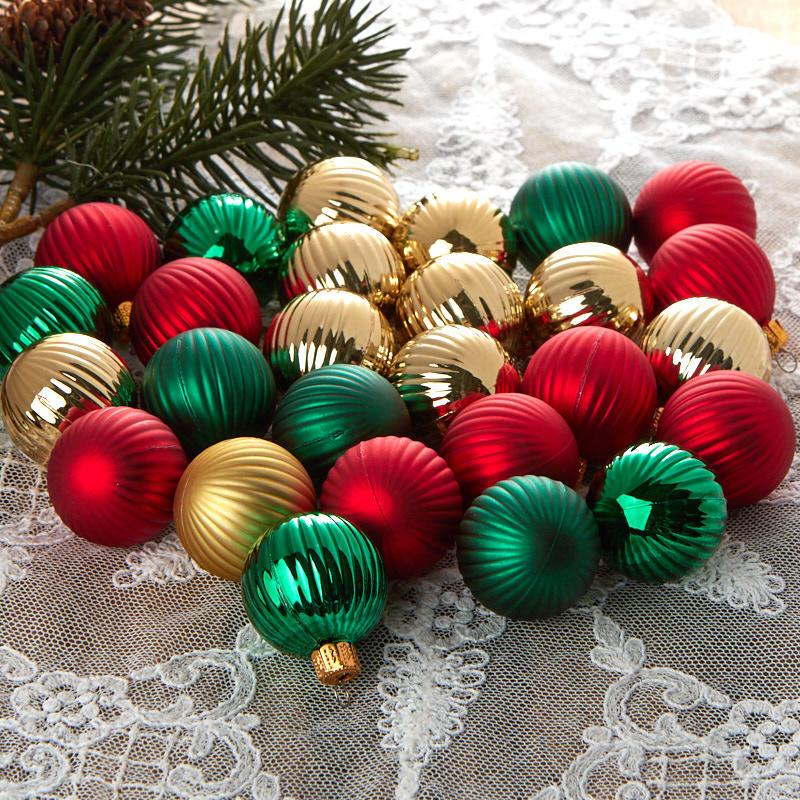 Miniature Christmas Ornaments.Miniature Christmas Ball Ornaments