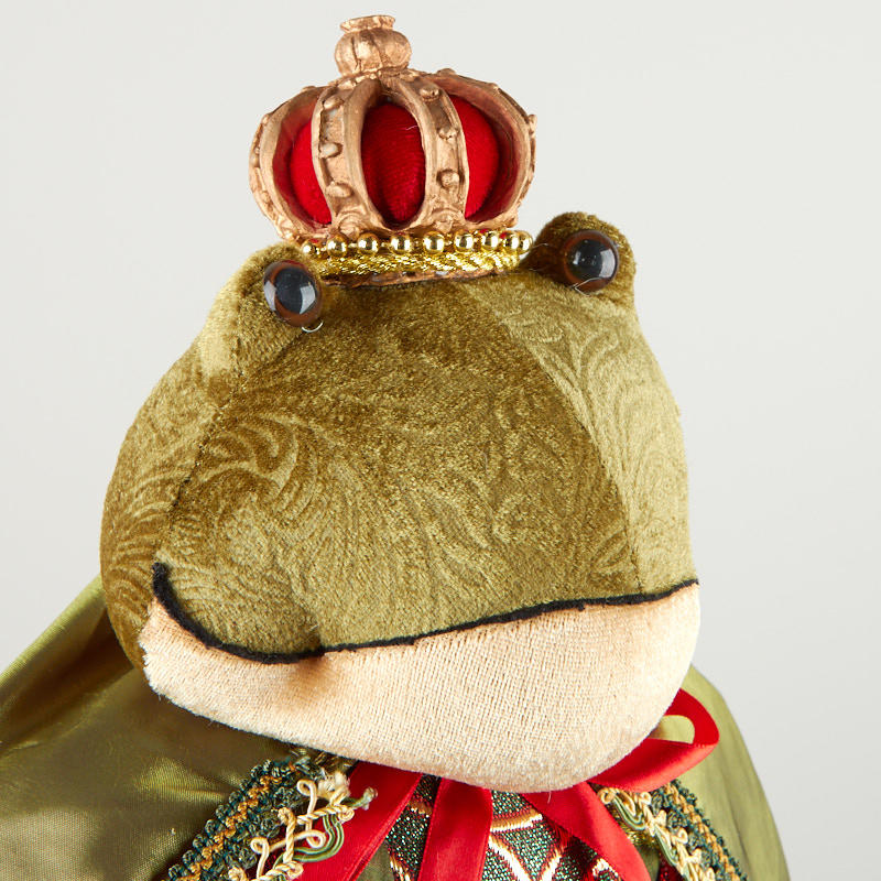 plush charming frog prince muslin dolls and animals