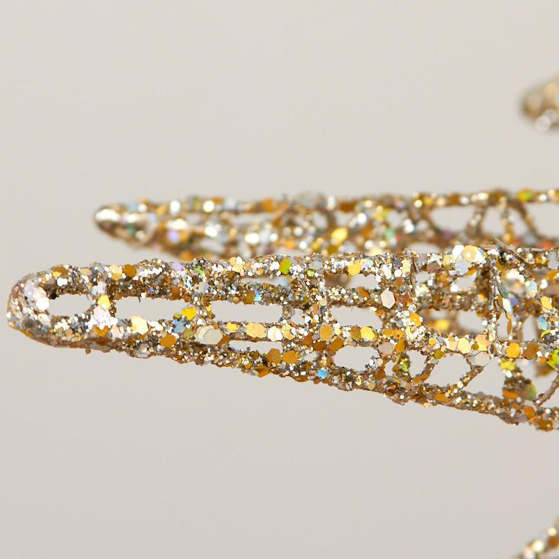 Sparkling gold d starburst new items