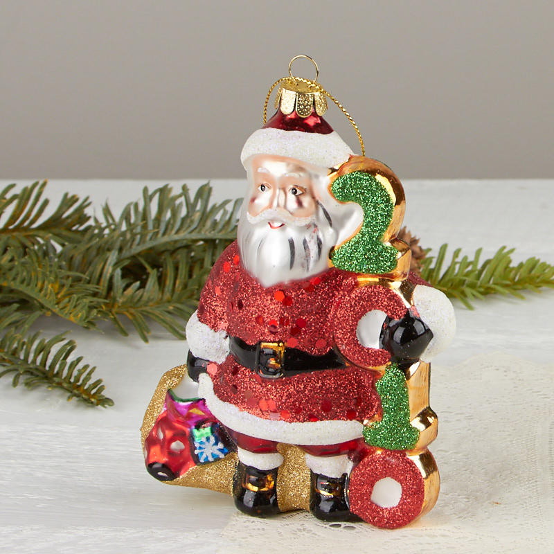 2010 Keepsake Santa Christmas Ornament - Christmas Ornaments ...
