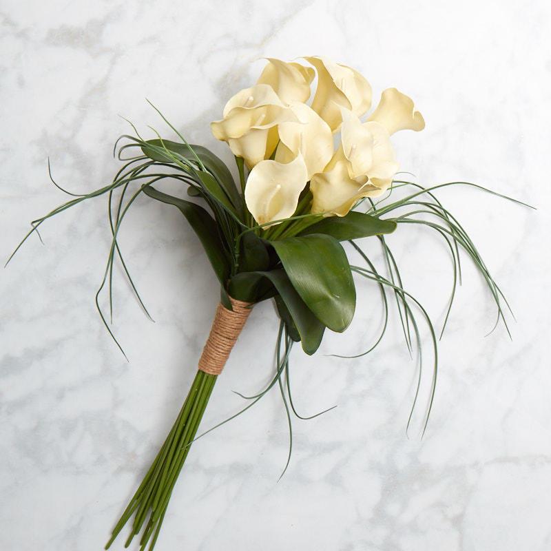 Artificial Calla Lily Bouquet Bushes Bouquets Floral